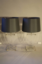A pair of lucite table lamps, French c1970 - picture 2
