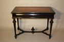 Napoleon III Ebonised Black Desk, French c1880 - picture 2