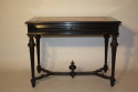 Napoleon III Ebonised Black Desk, French c1880 - picture 4