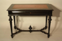 Napoleon III Ebonised Black Desk, French c1880 - picture 5