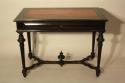 Napoleon III Ebonised Black Desk, French c1880 - picture 5