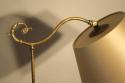 Victorian brass telescopic, adjustable floor lamp - picture 2