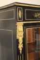 Napoleon III ebony veneer and ormolu cabinet - picture 3