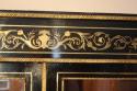 Napoleon III ebony veneer and ormolu cabinet - picture 4