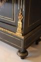 Napoleon III ebony veneer and ormolu cabinet - picture 7
