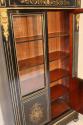 Napoleon III ebony veneer and ormolu cabinet - picture 9