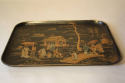 Japanese lacquered tray - picture 7