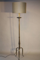 Silver pewter floor lamp - picture 1