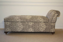 Late Victorian chaise longue with storage compartment. English c1900 - picture 3