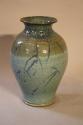 Turquoise glazed vase - picture 1