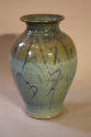 Turquoise glazed vase - picture 2