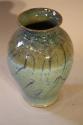 Turquoise glazed vase - picture 3