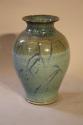 Turquoise glazed vase - picture 6