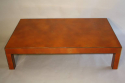 Vintage 1970`s orange and gold lacquered coffee table. - picture 2