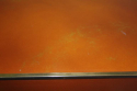 Vintage 1970`s orange and gold lacquered coffee table. - picture 3