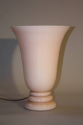 Art deco lamp, pale pink opaque glass, French 1930 - picture 3