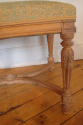 Small carved wood stool, 19thC French - picture 2