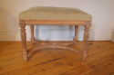 Small carved wood stool, 19thC French - picture 3