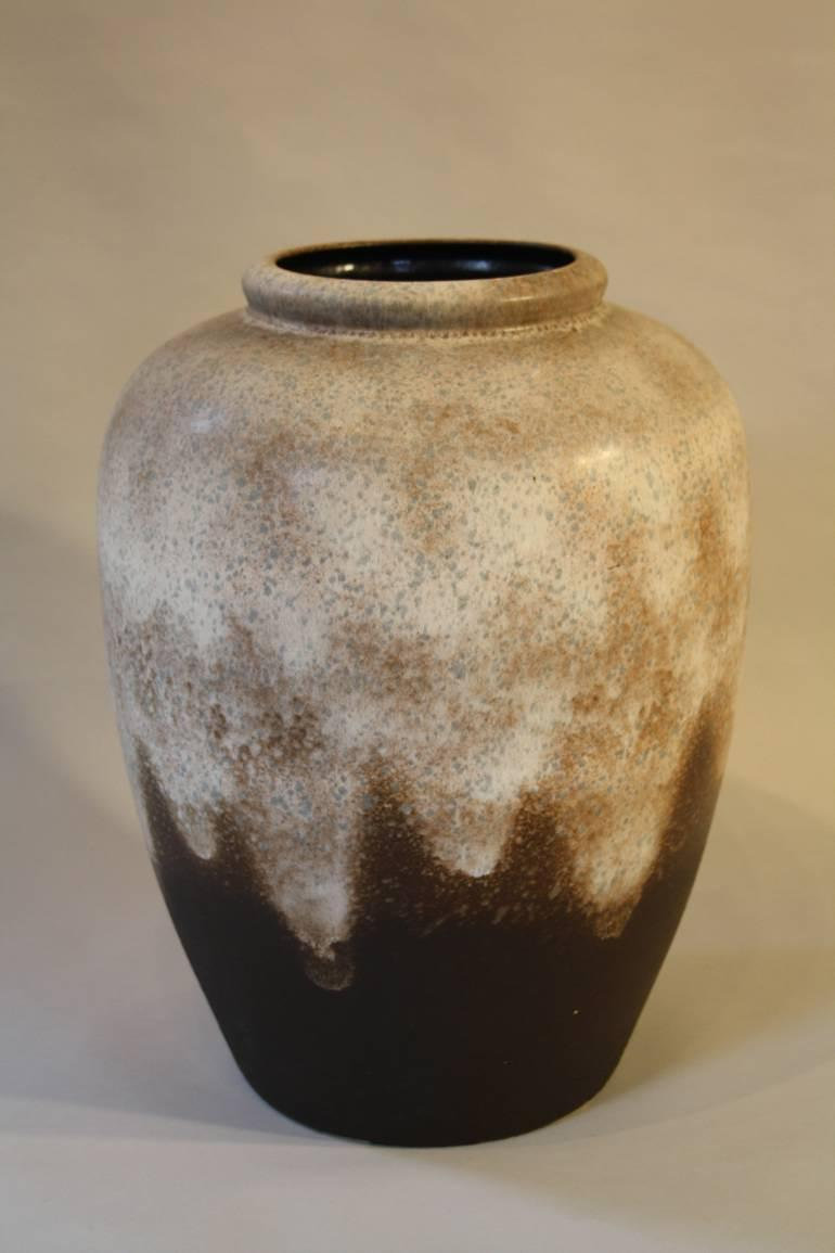 Large German 1970`s ceramic pottery vase