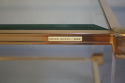 Pierre Vandel two tier lucite and glass coffee table - picture 3