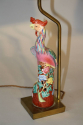 A pair of Chinese Famille Rose ceramic Phoenix bird lamps, French c1930 - picture 4
