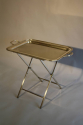 Silver plated tray table, French c1950 - picture 4