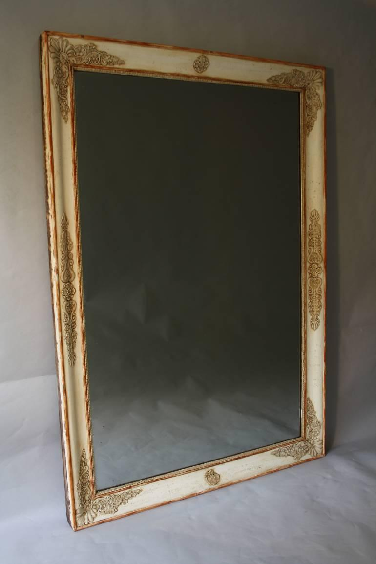 Empire mercury glass mirror in mirrors for Mirror glass design