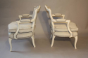 A pair of Antique French Napoleon III fauteuils, c1880 - picture 2