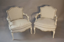A pair of Antique French Napoleon III fauteuils, c1880 - picture 4