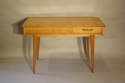 Herringbone veneered wood dressing table - picture 1