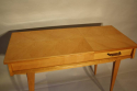 Herringbone veneered wood dressing table - picture 2