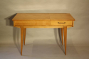 Herringbone veneered wood dressing table - picture 6