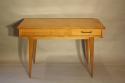 Herringbone veneered wood dressing table - picture 6