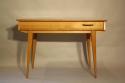 Herringbone veneered wood dressing table - picture 8