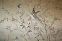 A large hand embroidered textile of birds and flowers - picture 2