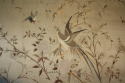 A large hand embroidered textile of birds and flowers - picture 3