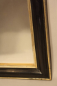 Petite black and gold archtop mirror - picture 5