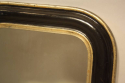 Petite black and gold archtop mirror - picture 6