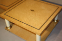 A pair of Italian burr maple end tables - picture 6