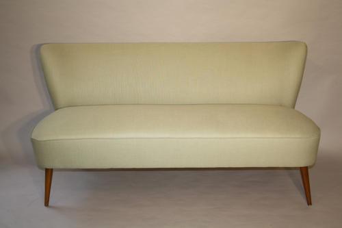 Pistachio Green 1950's Danish sofa