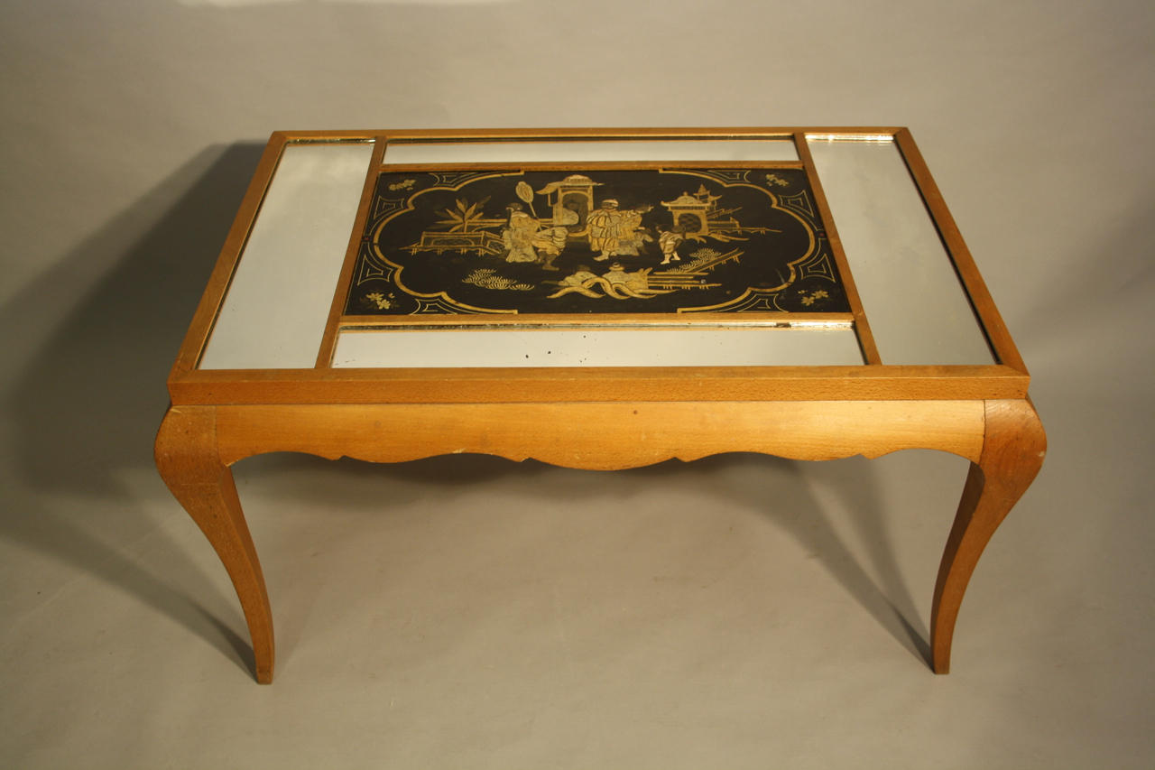 French sycamore coffee table