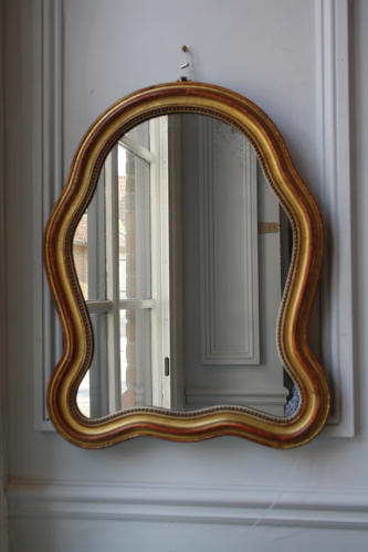 Small curved mirror