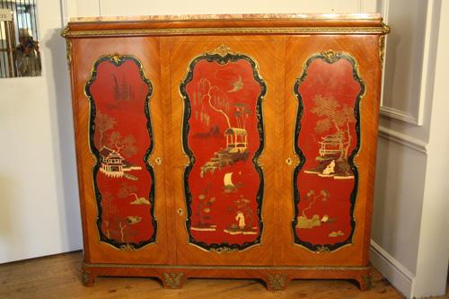 Louis XV revival cabinet