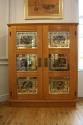Verre Eglomise cupboard - picture 1