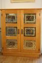 Verre Eglomise cupboard - picture 2