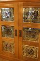 Verre Eglomise cupboard - picture 4