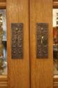 Verre Eglomise cupboard - picture 8