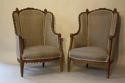 Carved Walnut armchairs - picture 3