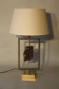 Amethyst stone lamp - picture 2