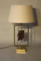 Amethyst stone lamp - picture 3
